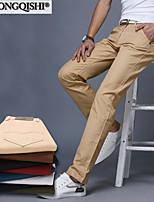 AOLONGQISHI® Men's Casual Pure Suits Pants (Cotton)