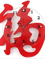China Red clock