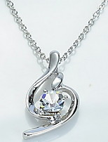 Soft Crystal Pendant Necklace(Assorted Color)