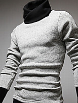 Men's Pullover , Others Long Sleeve