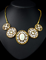 XIXI Women's The Newest Fashion Casual Gold Plated/Rhinestone/Imitation Pearl Statement
