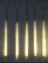 DC12V Input 20W 80CM Long 72pcs Bulbs LED Meteor Rain Light, Warm White Color 10 Pcs/Set