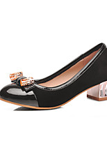 Women's Shoes Synthetic/Rubber Flat Heel Ballerina/Round Toe/Open Toe Flats Outdoor/Office & Career/Casual