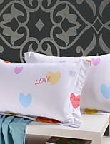 AIWODE® 100% Cotton Pillowcases (1 Pair) Comfortble
