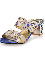 Women's Shoes Chunky Heel Scuff Slippers Outdoor/Casual Multi-color