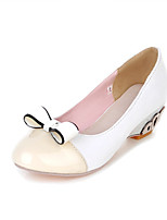 Women's Shoes Chunky Heel Round Toe Pumps Dress More Colors Available