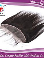 brasileño frontal del cordón de la onda del cuerpo del cierre tamaño 13x4 naturales parte libre virgen llena del cordón frontal cabello