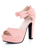 Women's Shoes  Kitten Heel Heels Pumps/Heels Office & Career/Dress Black/Yellow/Pink/Beige