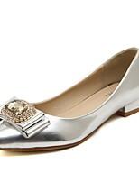 Women's Shoes Low Heel Ballerina Flats Casual White/Silver