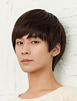 Students Hair Straight Bangs Handsome Short Hair Wigs New Fashion