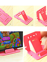 Universal Foldable Mini Cell Phone Stand Holder (Random Color)