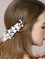 Blommor Headpiece Dam Bröllop/Speciellt Tillfälle Strass/Legering/Imitation Pärla Bröllop/Speciellt Tillfälle 1 st.