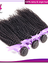 Unprocessed 1 Piece Indian Virgin Hair Kinky Curly 100% Indian Remy Hair Deep Wave