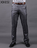 Men's Work/Formal Pure Suits Pants (Cotton Blends)  XKS6A14