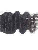 Forawme Free Part Lace Base Lace Closure Brazilian Virgin Hair Body Wave 4X4 Inch Base 10-20 Inch Human Hair Closures
