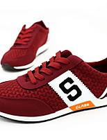 Scarpe da uomo - Sneakers alla moda - Casual - Sintetico - Rosso / Grigio