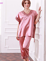 Pajama Donna Cotone/Poliestere/Seta Medio spessore