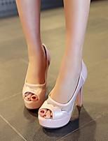 Women's Shoes  Chunky Heel Heels/Peep Toe/Platform Sandals/Pumps/Heels Office & Career/Casual Black/Blue/Pink/White