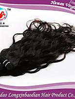 Three Bundles 6A 2015 Hot Sale Natural Wave Natural Color 100% virgin Briazilian Human Hair Weft