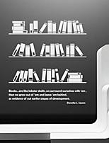 Wall Stickers Wall Decals, Modern Bookshelf PVC Wall Stickers