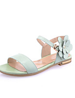Women's Shoes Leather Flat Heel Open Toe Sandals Casual More Colors Available