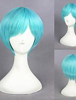 12inah Short Light Blue Touken Ranbu Online Ichigohitofuri Synthetic Anime Cosplay Wig 231K