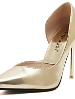 Women's Shoes Leather Stiletto Heel Pointed Toe Pumps Party More Colors available
