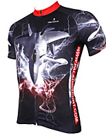 PaladinSport Men's Short Sleeve Cycling Jersey New Style F22 DX539 100% Polyester