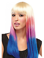 24 Inch Long Straight 3 Colors Gradient Five Clip Hairpiece Extension 16 Colors Available