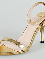 Women's Shoes Synthetic Stiletto Heel Heels Sandals Wedding/Party & Evening/Dress Gold