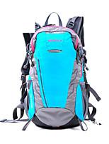 Hiking & Backpacking Pack/Rucksack Camping & Hiking Waterproof / Rain-Proof 28 L Green / Black / Blue Nylon / 600D Ripstop Hewolf