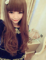 Japan and South Korea High Quality Fashion Synthetic Long Hair Wigs