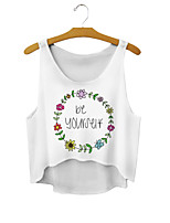 Women's Sexy Casual Stretchy Short Vest (Cotton Blends)