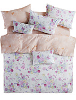 Cozzy 1.5 Meters High Density 100% Cotton Twill Duvet Cover Set Four Pieces (Patrick Thea)