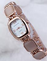 cadran rectangulaire luxurylady la montre de mode bracelet des femmes