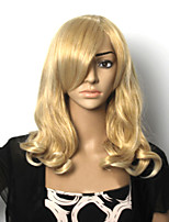 The European and American Fashion Girl Prerequisite Golden Detonation Curly Wig