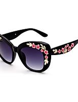 Fashion Women 's 100% UV400/Anti-Radiation Square Sunglasses(Assorted Color)