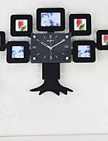 Horloge murale - Nouveauté - Moderne/Contemporain - en Verre/Bois