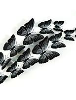 12pcs adesivi murali farfalla di simulazione 3D decalcomanie di arte