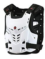 Chaqueta ( Blanco/Negro ) - de Deportes recreativos/Ciclismo/Campo Traviesa/Moto - Transpirable/A Prueba de Golpes - de Sin Mangas Unisex