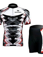 A Short Sleeved Jersey Suit, Moisture Cycling Wear, Motor Function Material