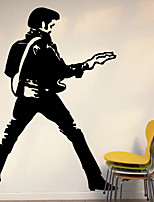 Wall Stickers Wall Decals , Elvis PVC Wall Stickers