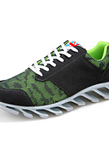 Scarpe Donna Tulle/Finta pelle Piatto Comoda/Cinturino alla caviglia Sneakers alla moda/Scarpe da ginnastica Tempo libero/Casual