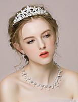 Women's Alloy/Rhinestone/Imitation Pearl Jewelry Set Crystal/Imitation Pearl/Rhinestone