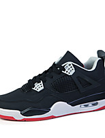 Men's Sports Shoes Basketball Shoes Black / White / Black red/Grey green