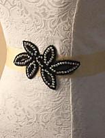 Faixa Cetim/Tule Faixas para Mulheres Casamento/Festa/Noite Pedraria