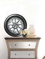 3d parede de pneus decalques adesivos de parede