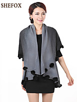 Women's Vintage/Casual/Work Micro-elastic Medium Shrug (Knitwear) SF7A06
