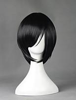 Touken Ranbu Tanto Yagentoushirou Black 33cm Cosplay Wigs