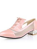 Women's Shoes Synthetic Chunky Heel Heels/Basic Pump Pumps/Heels Office &